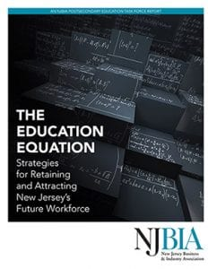 NJBIA Education Equation report cover