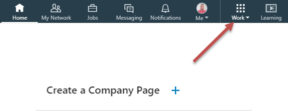 LinkedIn toll bar