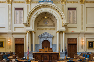 photo of NJ Assembly Chamber