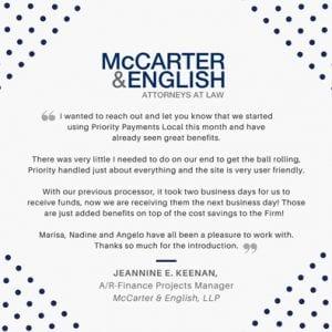 McCarter Testimonial