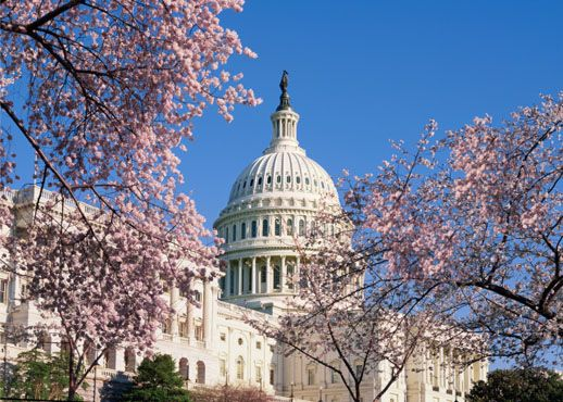 Photo of exterior of the U.S. Capitol building