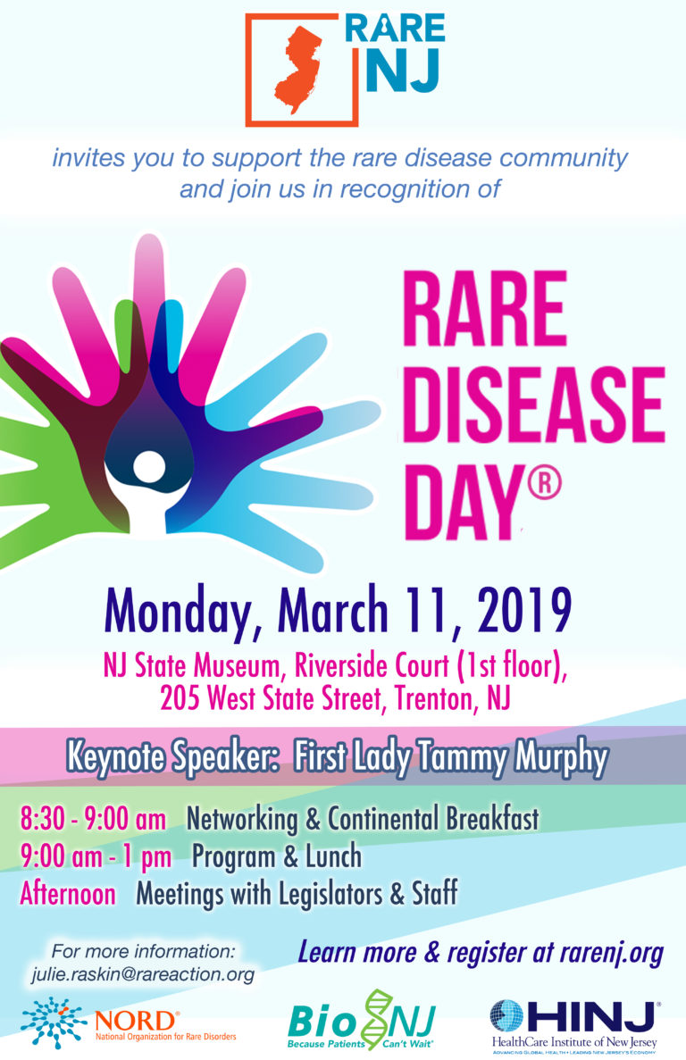 2019 New Jersey Rare Disease Day
