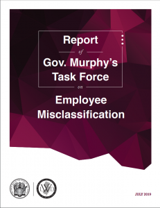 cover of the misclassification report