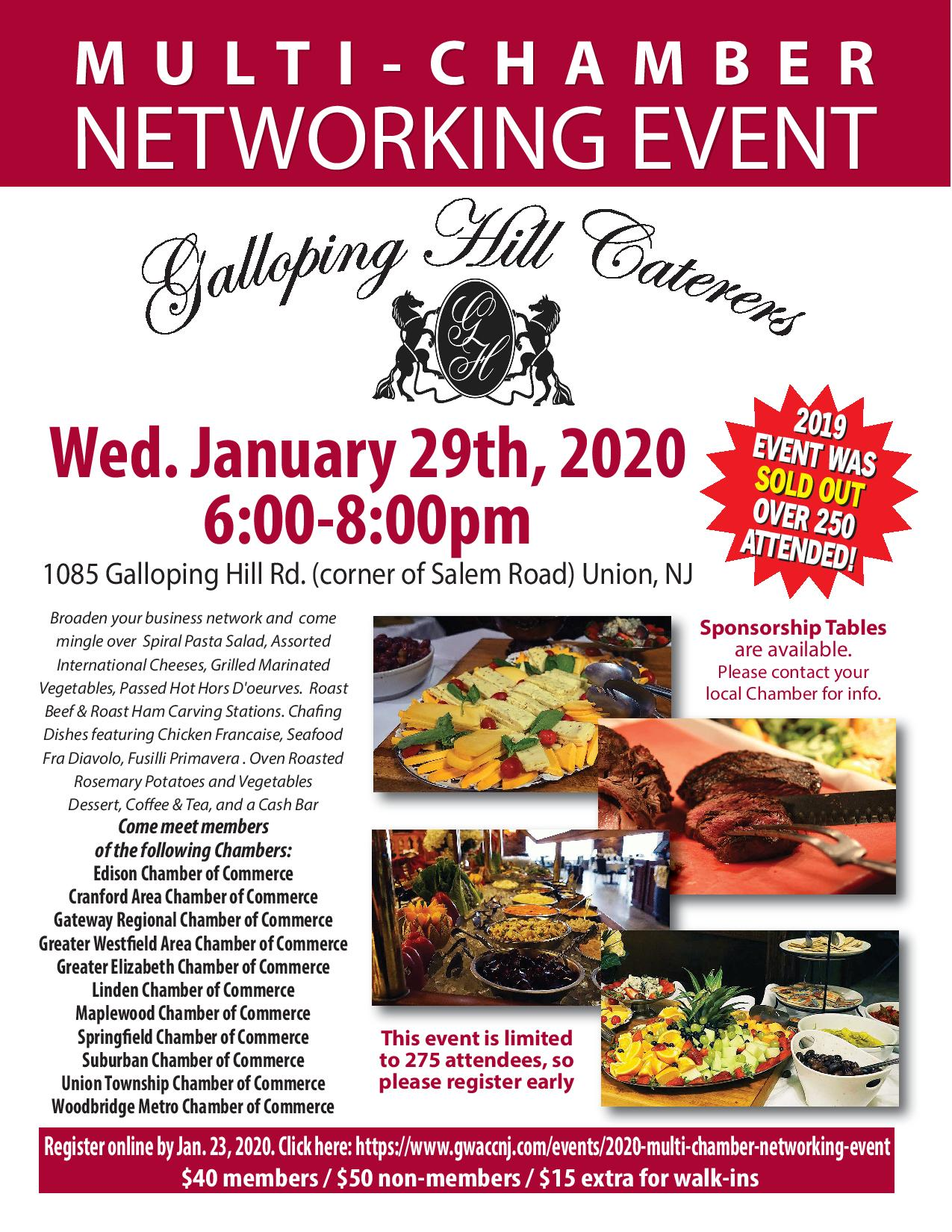 2020 Multi-Chamber Networking Event