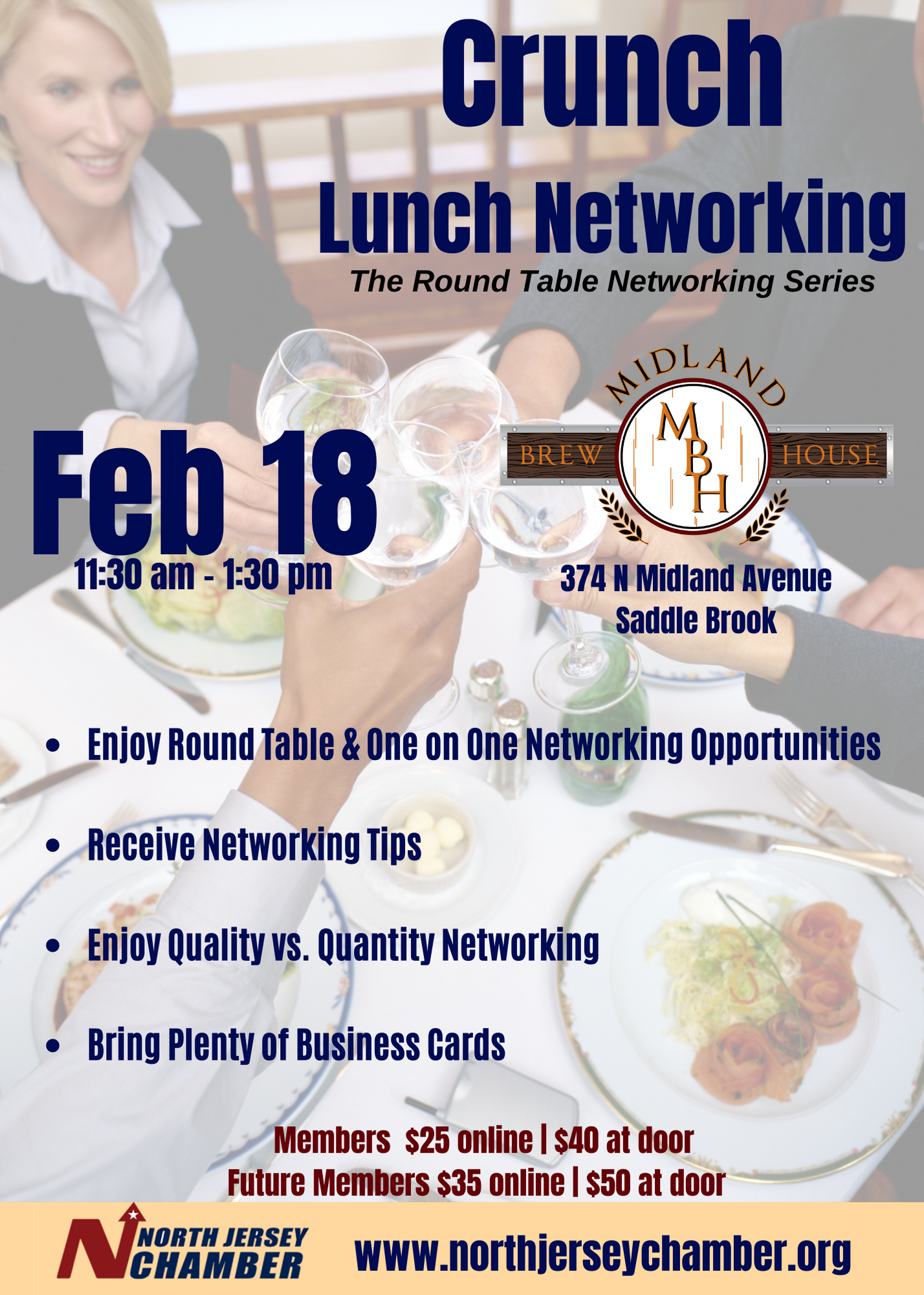 Crunch Lunch: The Round Table Networking Series
