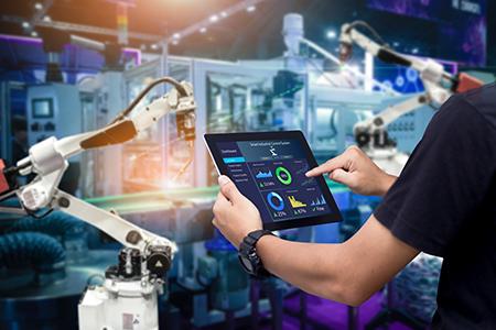 modern manufacturing image