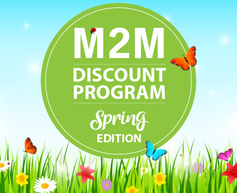 M2M Discounts