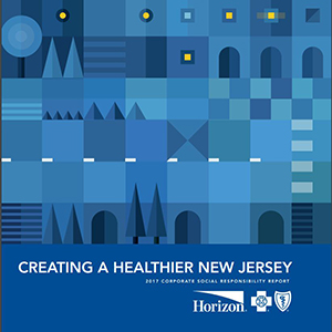 Image of Horizon report Creating a Healthier New Jersey