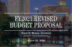 Cover and title of state's official budget document