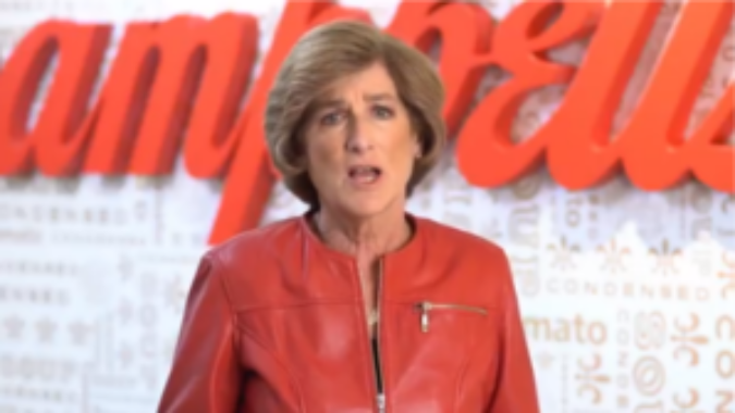 Campbell's CEO talking about International Women's Day