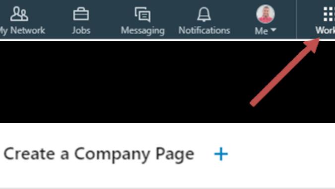 LinkedIn toll bar