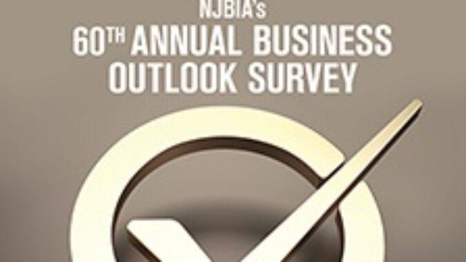 NJ Business Outlook Survey Magazine Cover
