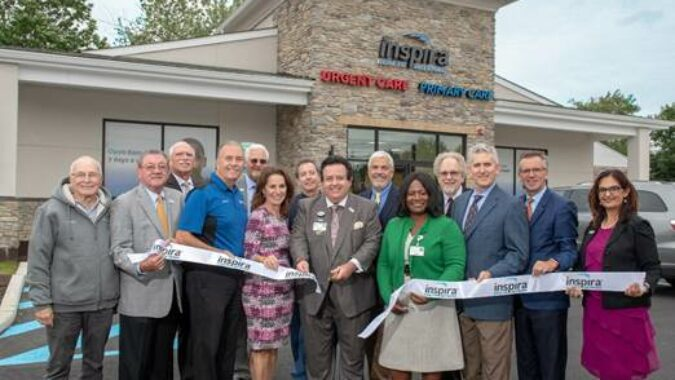 September 24, 2018- Today Inspira leadership, board members and city officials celebrated the opening of Inspira Urgent Care Somerdale with a ribbon cutting.