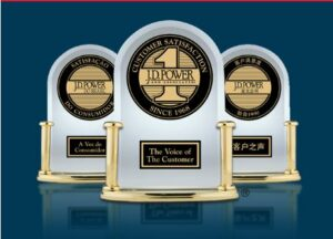 image of JD Power consumer satisfaction award