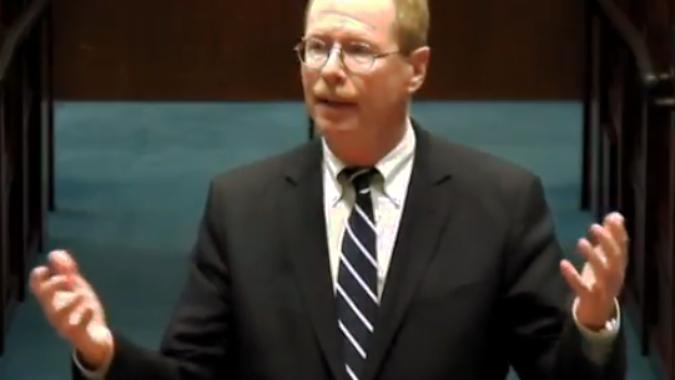 Attorney David Kott arguing before the NJ State Supreme Court