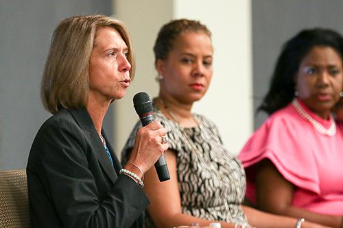 NJBIA President & CEO Michele Siekerka