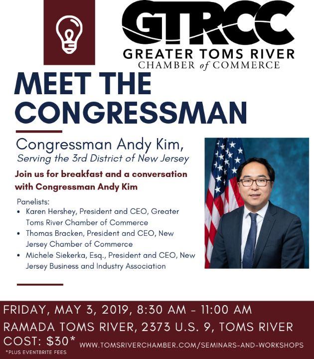 Meet the Congressman Flier