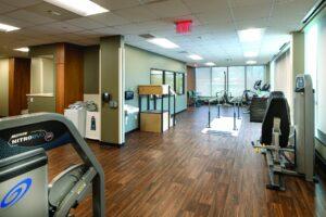 interior image of the Virtual Camden Health & Wellness Center.