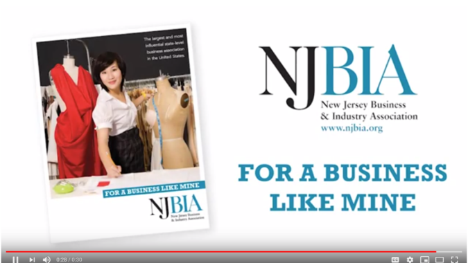 Home page of NJBIA's introductory video on its YouTube page