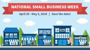 Poster for National Small Business Week