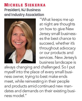 South Jersey Magazine quote box for Michele Siekerka