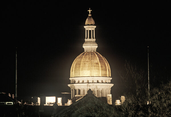 NJ State Capitol at Night