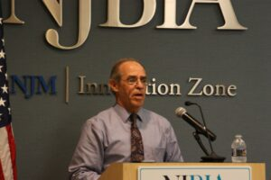 John Ficara, director of the New Jersey Division of Taxation, at the NJBIA taxation committee meeting
