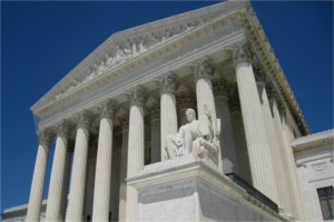 Front of US Supreme Court building