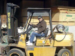 Eighteen Lumber owner John Dobrzynski Jr.