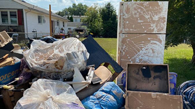 storm damaged appliances